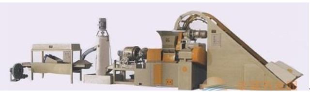 连续密炼机+单螺杆挤出造粒机组