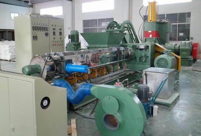 连续密炼机+熔体泵造粒机组